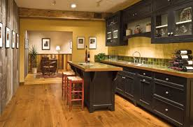 Kitchen Colors With Wood Cabinets Small Kitchen With Modern Look Boshdesigns Com Kitchen Design