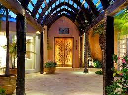 front door with glass panels tropical front door with glass panel door u0026 curved wood zillow
