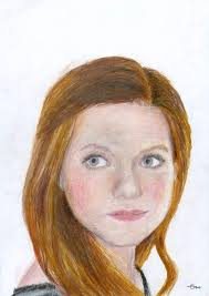 ginny weasley coloring pages ginny drawing harry potter amino