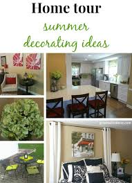 New Ideas For Decorating Home Green With Decor U2013 Summer Home Tour