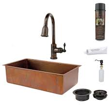 copper kitchen sink with faucet holes kitchen design
