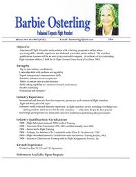 Sample Resume For Csr With No Experience by Charming Cabin Crew Resume Sample With No Experience 78 About