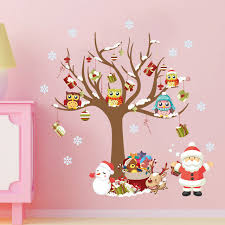 merry christmas modern 2018 new xmas modern merry christmas multicolor plane wall sticker