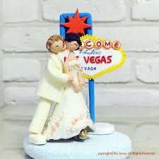 las vegas mariage wedding las vegas custom cake topper decoration gift keepsake
