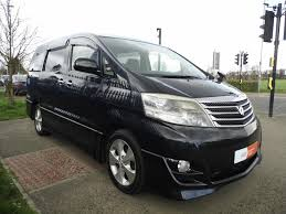 used toyota alphard 2 4 for sale motors co uk