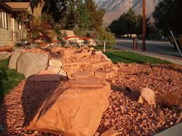 Landscape Rock Utah by Excavation U0026 Landscaping Salt Lake City Utah Anchored Excavation