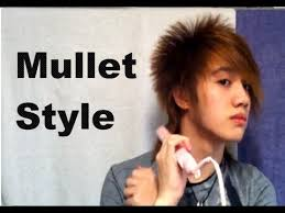 asian hairstyle mullet youtube