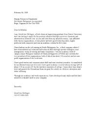 Sample Resume For Ojt Mechanical by Sample Application Letter For Ojt Mechanical Engineering Students