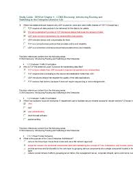 study guide drsent chapter 1 ccna discovery introducing