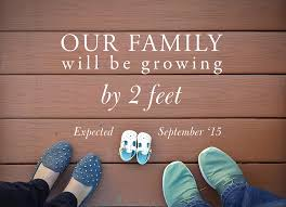 baby announcement pregnancy announcements you ll want to real simple