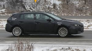 subaru hatchback 2017 subaru impreza hatchback spied during final testing
