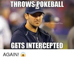 Romo Interception Meme - 25 best memes about interception interception memes