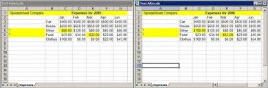 Spreadsheet Comparison Tool Spreadsheet Compare Sourceforge