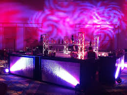 party rental orlando gobo abstract brakup orlando corporate event decor design