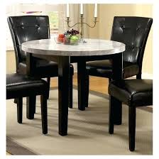 marble top dining table set round marble top dining table lesdonheures com