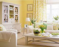 yellow and gray living room ideas yellow floral pattern fabric