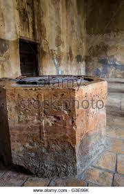 church baptistry baptistry in church nativity bethlehem stock photos baptistry in