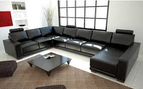 Green Leather Sectional Sofa Sofa Beds Design Glamorous Modern Large Leather Sectional Sofas