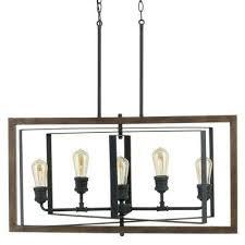 5 Light Bronze Chandelier Mesmerizing Rustic Chandeliers Lighting The Home Depot Of