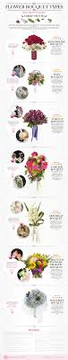 types of flower arrangements a brief history of flower bouquet types infographic visualistan