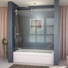 Bathtubs With Glass Shower Doors Shower Door Glass Shower Doors Near Me All Glass Shower Glass
