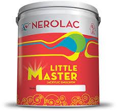 nerolac little master acrylic emulsion interior paint colours