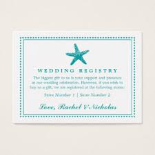 bank wedding registry wedding registry business cards templates zazzle
