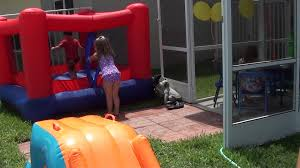 ethan u0027s 3rd birthday backyard pool party youtube