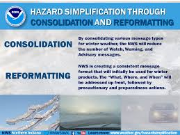Where Is Winter Nws Northern Indiana 2017 2018 Winter Season Hazard Simplification