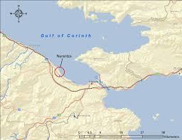 Corinth Greece Map by Gulf Of Corinth Related Keywords U0026 Suggestions Gulf Of Corinth