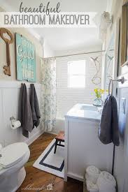 Diy Bathroom Makeover Ideas - beautiful cottage style bathroom makeover