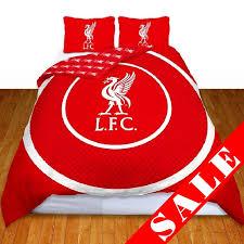 Man Utd Duvet Liverpool Fc Double Quilt Cover