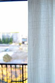 Ritva Curtain Review Installing And Hemming Ikea Curtains Diy Playbook