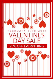 valentines sale rock your s sale with our retail flyers design studio