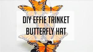 Effie Halloween Costume Hunger Games Diy Effie Trinket Butterfly Hat Halloween