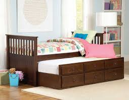 Twin Bed Homelegance Zachary Twin Twin Trundle Bed 571pe 1