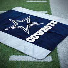 Dallas Cowboys Drapes by Dallas Cowboys Luxury Blankets U0026 Throws Made In The Usa Denali
