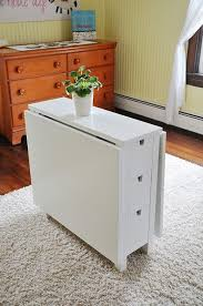 Narrow Drop Leaf Table Drop Leaf Table For Cutting This One From Ikea Playhouse Ideas