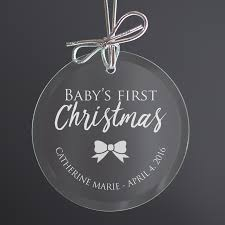 baby u0027s first christmas ornament