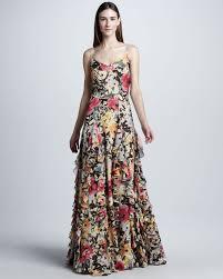 floral silk evening dresses discount evening dresses