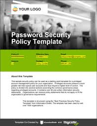 Sans Policy Templates by Password Policy Template Privileged Account Management Policy