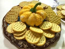 thanksgiving cheeseball pumpkin shaped cheese ball the country cook