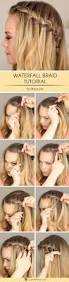 Hairstyle For Party Easy To Do by Best 25 Waterfall Braids Ideas On Pinterest Waterfall Hair