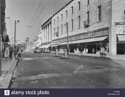 queen street cardiff 1961 showing british home stores stock