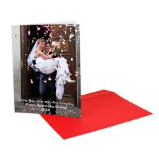 personalised a4 greeting card large photo card big cards by bags