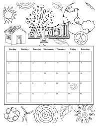 coloring pages kids calendar coloring page free download pages