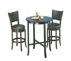 Pub Bar Stools by Amazon Com York Black Pub Table Set With 2 Leather Chairback