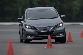 nissan leaf review 2017 nissan leaf 2018 prototype review new ev driven auto magazine