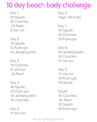 Challenge Properly Physical Examiner 10 Day Challenge Start Exercise