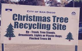 san diego christmas tree recycling clairemont times